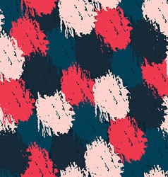 Seamless pattern with paint effect vector