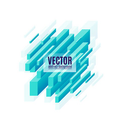 Blue geometric diagonal vector