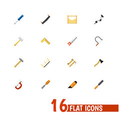 Set of 16 editable instrument icons includes vector