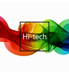 Modern colorful hi-tech abstract background vector
