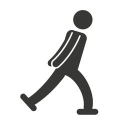 Athlete sport figure silhouette vector