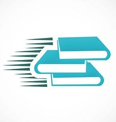 Book e book logo vector