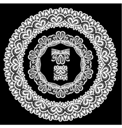 Lace round 8 380 vector