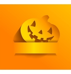 Sticker for Halloween vector image vector image