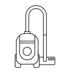 Vacuum cleaner icon outline style vector