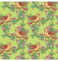 Birds seamless 2 380 vector