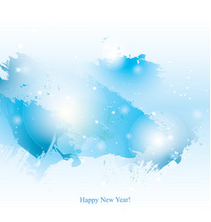 background-blue-new-year-one vector image