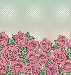 backgroundflowers vector image