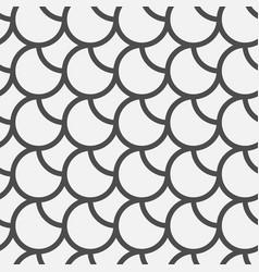 Black circles pattern vector