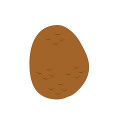 Potato icon in flat style vector