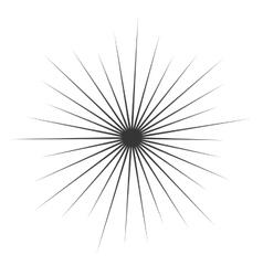 Comic Book monochrome Explosion vector image vector image