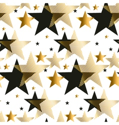Seamless dots modern luxury pattern geometry vector