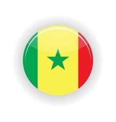 Senegal icon circle vector