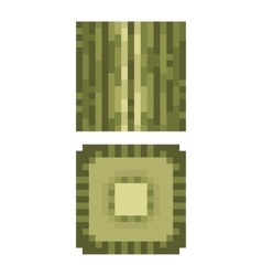 Texture for platformers pixel art - green vector