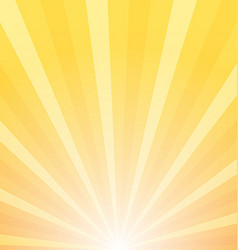 Sunray background sunrise and sunset vector image