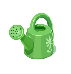 Watering can garden vector