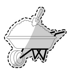 Gardening tools icon image vector