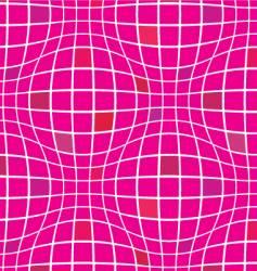 warp squares fuchsia vector image