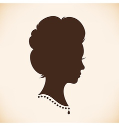 Vintage woman design vector