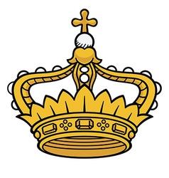 Queen crown vector