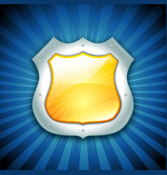 Security protection shield icon vector