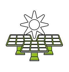 solar energy innovation vector image vector image