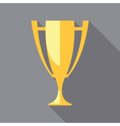 Trophy icons winner cup vector