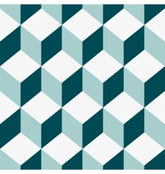 Seamless pattern cube art vector