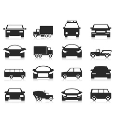 Car icon3 vector