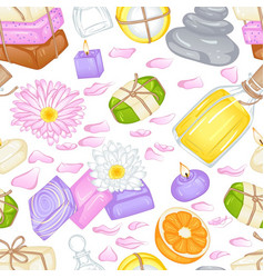 Various soap pattern vector