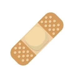 Adhesive bandage icon vector