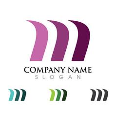Business finance logo vector