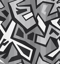 Monochrome graffiti seamless vector