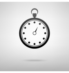 Stop watch icon vector