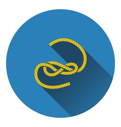 Icon of rope vector