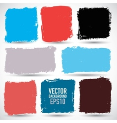 Grunge colorful backgrounds vector