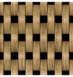 vintage wooden blocks vector image