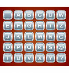 Keyboard buttons vector