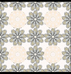 beautiful fabric pattern eps10 cute seamless vector image