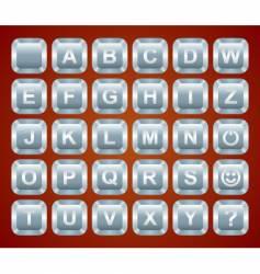 Keyboard buttons vector