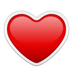 Modern heart vector