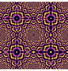 Kaleidoscope seamless pattern vector image