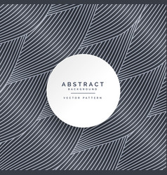 Abstract dark wave line pattern background vector