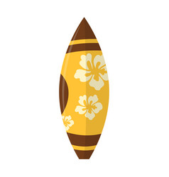 abstract summer surfboard vector image