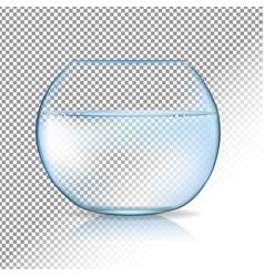 Acvarium transparent background vector