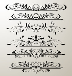 Decorative page design 3 vector