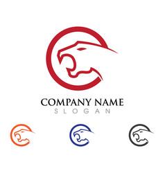 Puma logo design vector