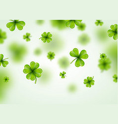 Saint patricks day background design with green vector