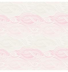 Stylized waves elements pattern vector