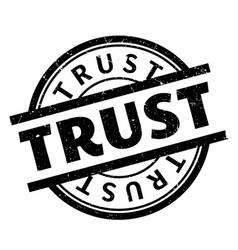 Trust rubber stamp vector